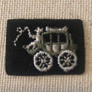 5/$10 Vintage Stagecoach Patch
